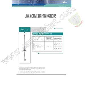 صاعقه گیر الکترونیکی لیوا صاعقه گیر مدل LIVALAP